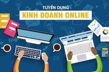 Tuyển dụng nhân viên kinh doanh bán hàng online