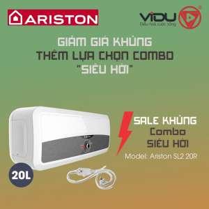 Binh nong lanh 20L Ariston SL2 20R
