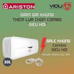 Binh nong lanh 30L Ariston SL2 30R