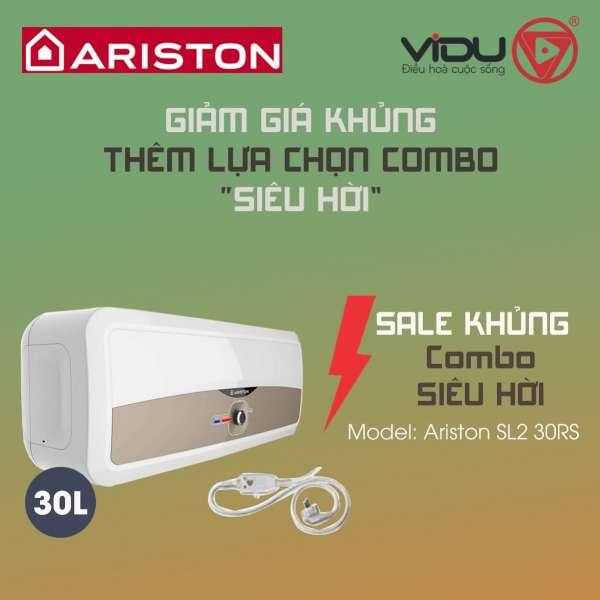 Binh nong lanh gian tiep Ariston 30L SL2 30RS