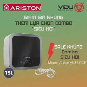 Binh nong lanh gian tiep Ariston AN2 15TOP 2.5 FE MT 15 Lit 2