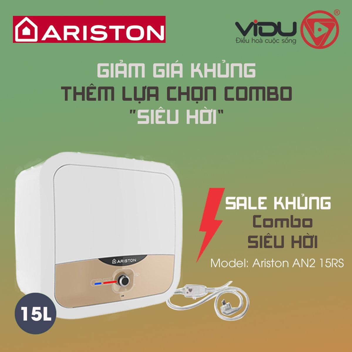 Bình nóng lạnh 15L Ariston AN2 15RS 2.5 FE-MT