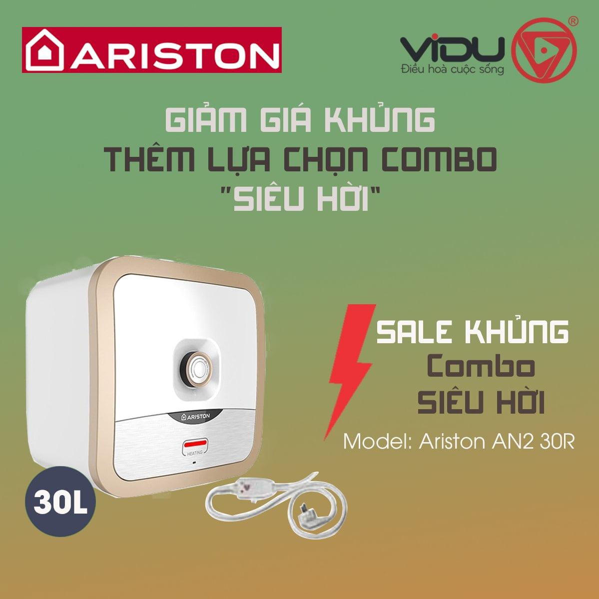 Bình nóng lạnh 30L Ariston AN2 30R 2.5 FE-MT
