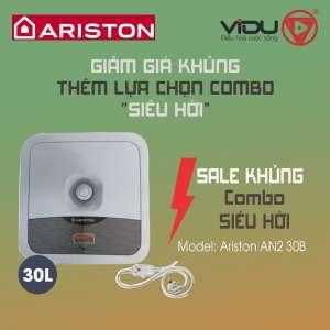 Binh nong lanh Ariston AN2 30 B 2.5 FE 30 lit