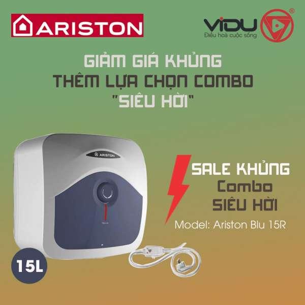 Binh nong lanh Ariston BLU 15R 2.5 FE – 15 lit 2