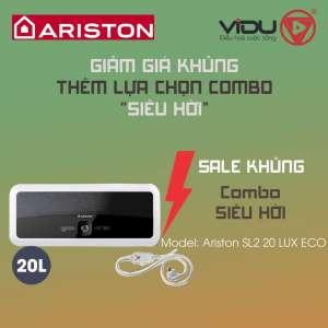 Binh nong lanh gian tiep Ariston 20L SL2 20LUX ECO 1