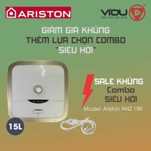 Binh nong lanh gian tiep Ariston AN2 15R 2.5 FE MT 15 Lit